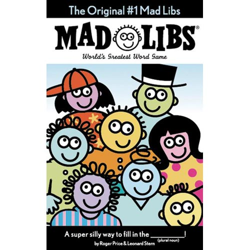 The Original Number 1 Mad Libs