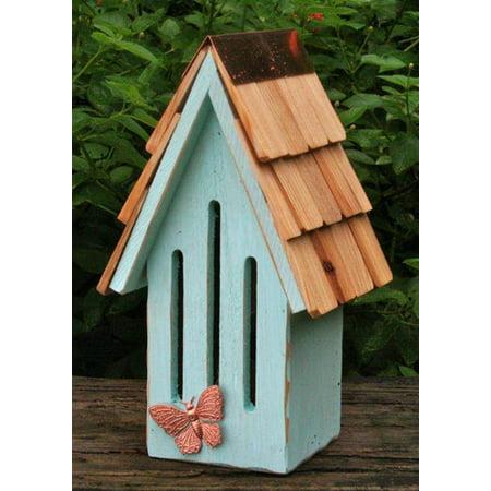 Butterfly Breeze Butterfly House in Sky Blue Finish