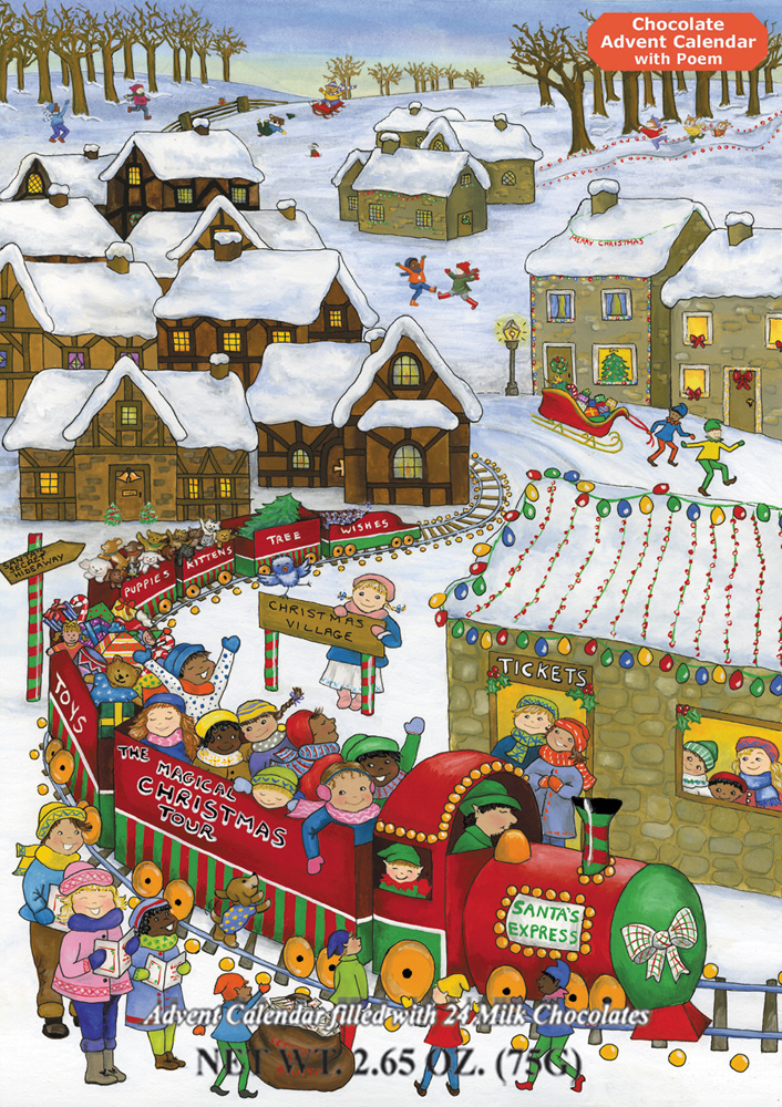 Christmas Calendar Chocolate : Vermont christmas company on walmart seller reviews