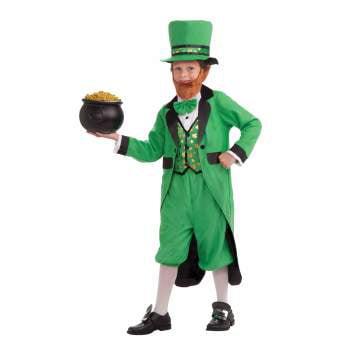 CHCO-MR.LEPRECHAUN-LARGE (St David's Day Costume Boys)