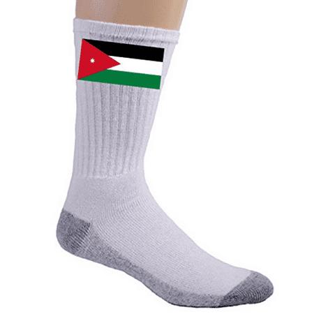 Jordan - World Country National Flags - Crew Socks (Jordan Dri Fit Socks)