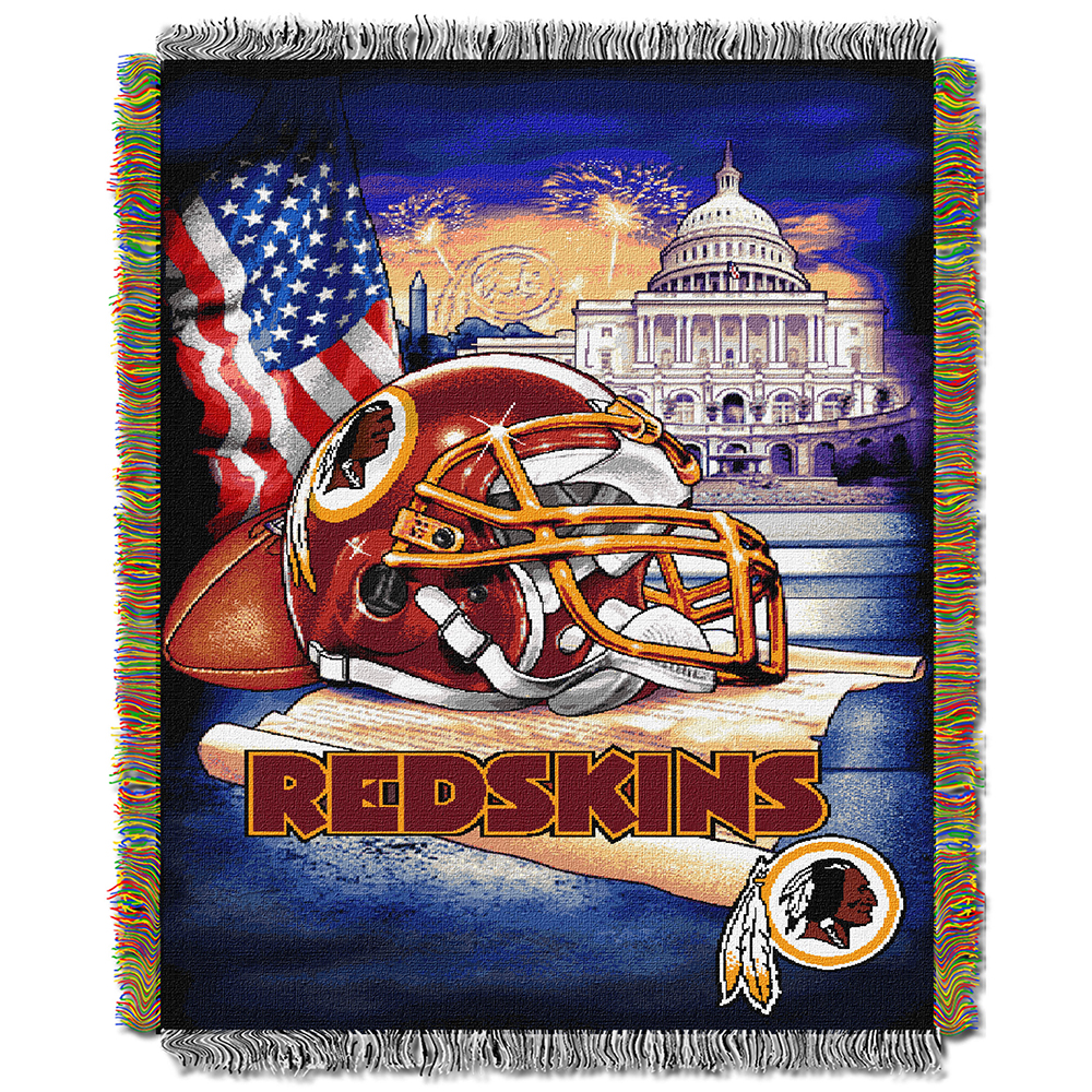 "Philadelphia Eagles NFL Woven Tapestry Throw (Home Field Advantage) (48""x60"")"