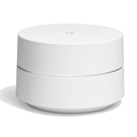 Google Wifi - 1 Pack - Mesh Router Wifi (Best Value Wood Router)
