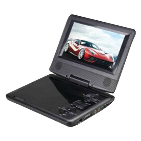 Supersonic SC-178DVD 7″ Portable DVD Player with Swivel Display