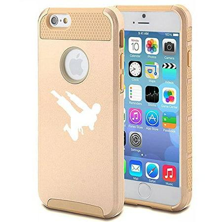 Apple iPhone 5c Shockproof Impact Hard Case Cover Ninja Karate (Gold ),MIP - The Gold Ninja