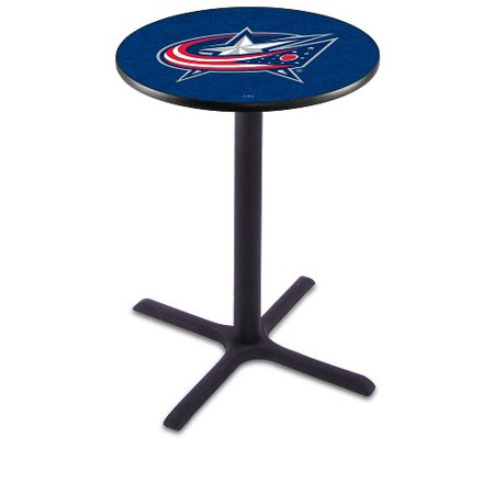 NHL Pub Table by Holland Bar Stool, Black Columbus Blue Jackets 42'' L211 by