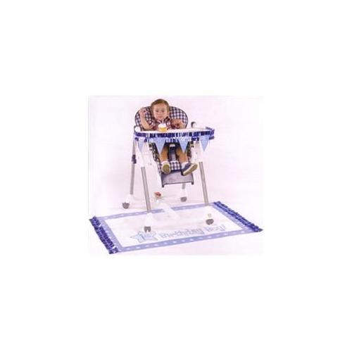Baby Gift Idea 249635 Amscan 1st Birthday High Chair Decorating Kit - boy