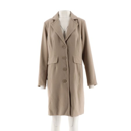 Linea Louis Dell'Olio Single Breasted Blazer Coat A298054 Cashmere Single Breasted Suit