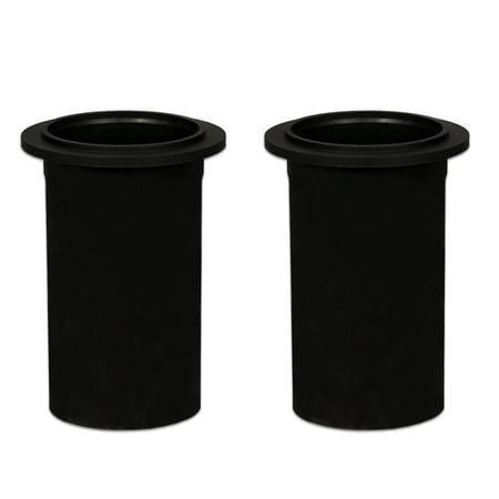 2 Goldwood Sound PT-306/S Speaker Cabinet Port Tubes with Screens 2.75