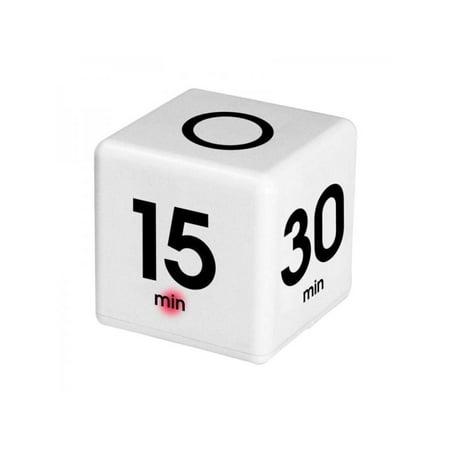 Topumt Cube Timer 5 -15 - 30 - 60 Minutes for Time Management Kitchen Timer Kids Timer Workout - Workout Timer