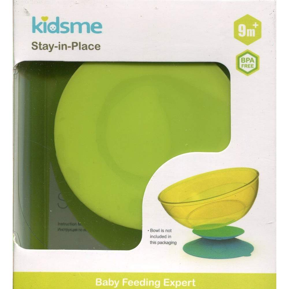 Lime Kidsme Stay-in-place Placemat