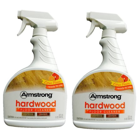Armstrong Hardwood and Laminate Floor Cleaner 32 oz Citrus Fusion 946 mL (Pack of 2)