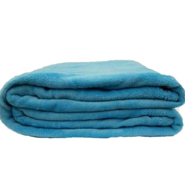 Coral Fleece Throw Blanket Soft Elegant Cover Full Turquoise Walmart Com Walmart Com