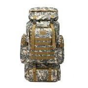 80L Large Capacity Hiking Backpack Military Tactical Backpack Waterproof Nylon Rucksack Hike Backpack Camping Sport Shoulder Bag for Outdoor Gift