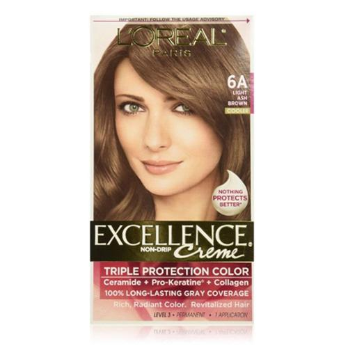 L Oreal Paris Excellence Creme Haircolor Light Ash Brown