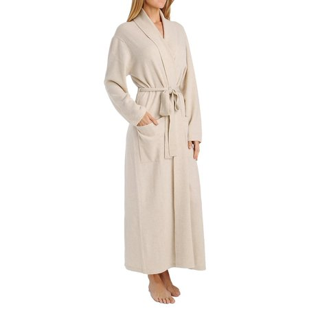 Cashmere Womens Robe - 2011 Cashmere Classic Long Robe With Shawl Collar