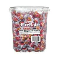 Atomic Fireball, Cinnamon Hard Bulk Candy, 65 Oz, 240 Ct