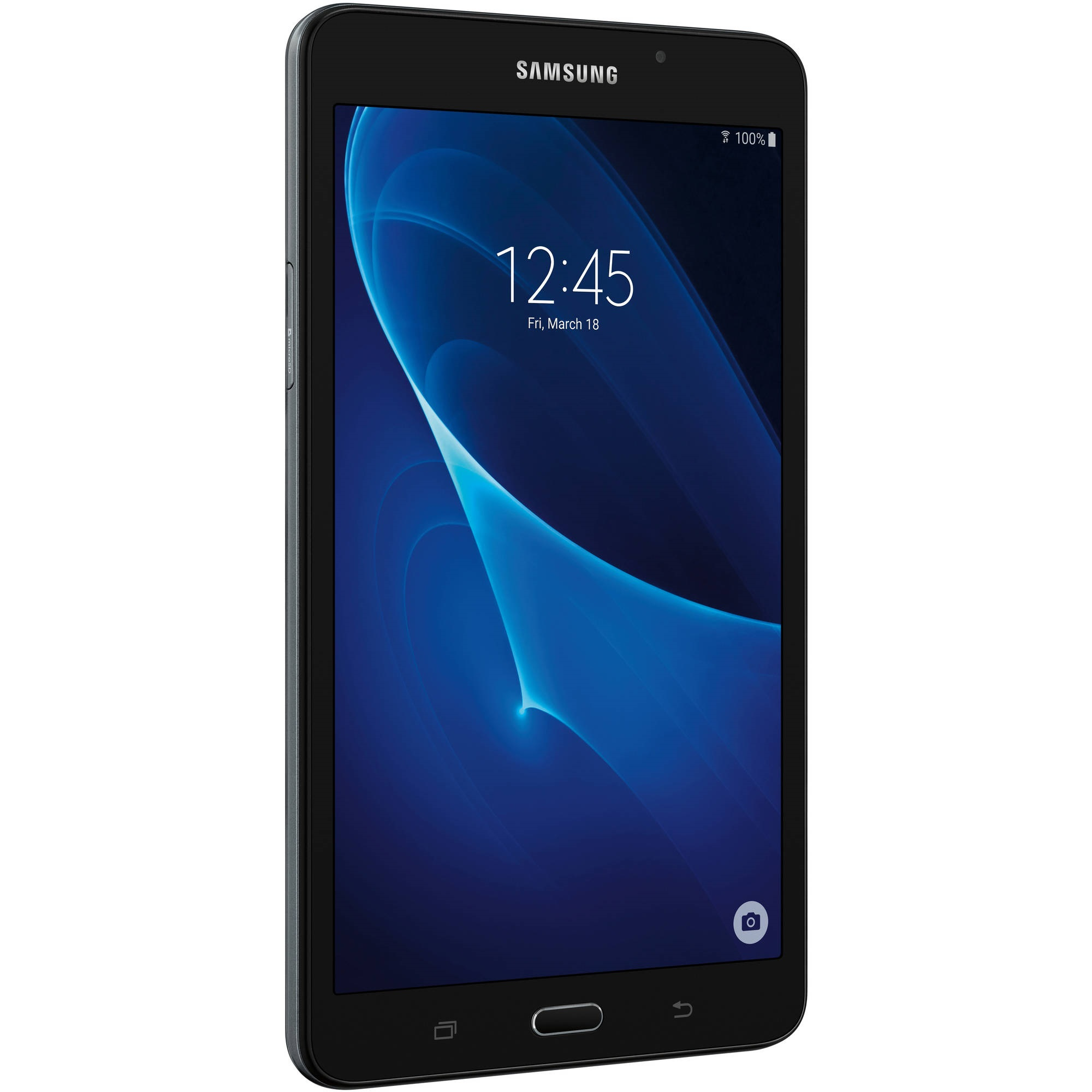 "Refurbished Samsung Galaxy Tab A 7.0"" 8GB Black Wi-Fi SM-T280NZKRXAR"