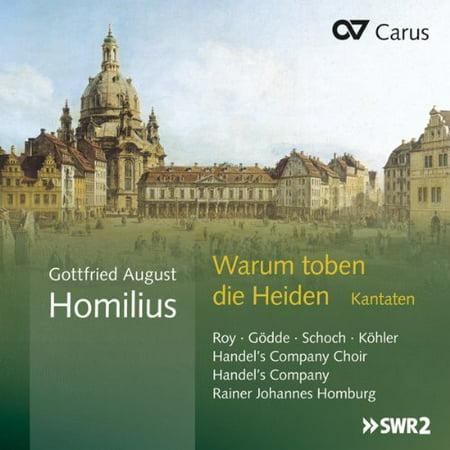 Heiden Compact (Warum Toben Die Heiden Cantatas )