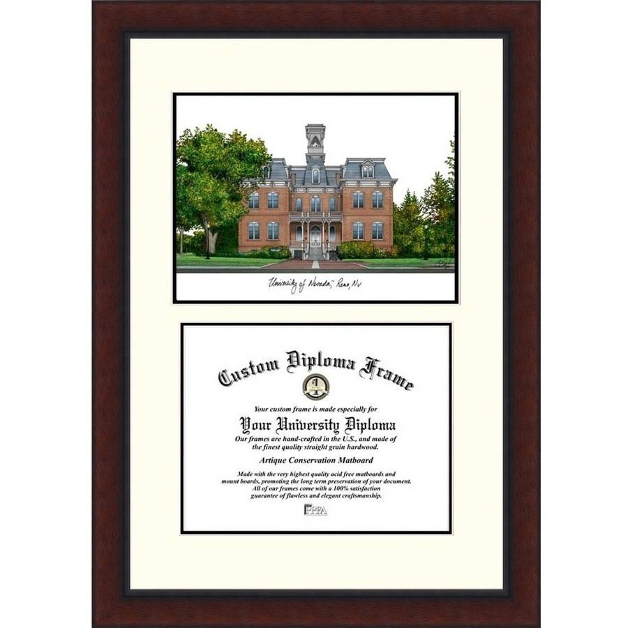 "University of Nevada 8.5"" x 11"" Legacy Scholar Diploma Frame"