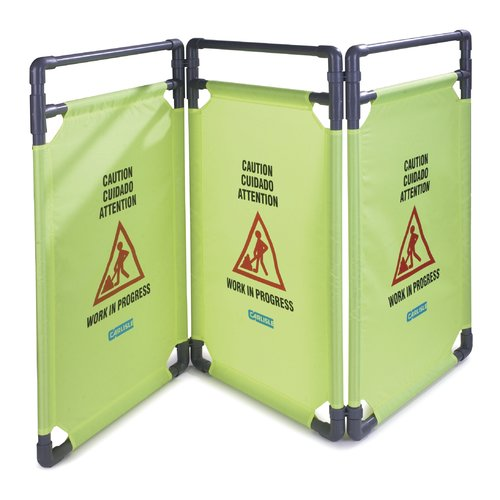 Carlisle Food Service Products 1-Panel Add On Caution Barrier