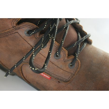 Boot Laces Kit X-Cords Black /KEVLAR Hiking Boot Lace Kit Fits 72