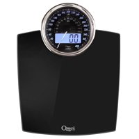 Product Image Ozeri Rev Digital Bathroom Scale With Electro Mechanical Weight Dial