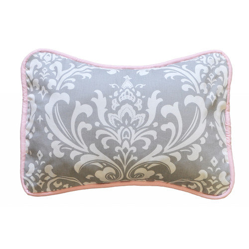 New Arrivals Stella Gray Throw Pillow