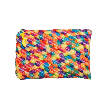 ZIPIT Colorz Jumbo Pencil Case, Small Bubbles (Pencil Cases Small)