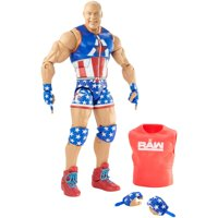 WWE Elite Collection Kurt Angle Action Figure with Accessories