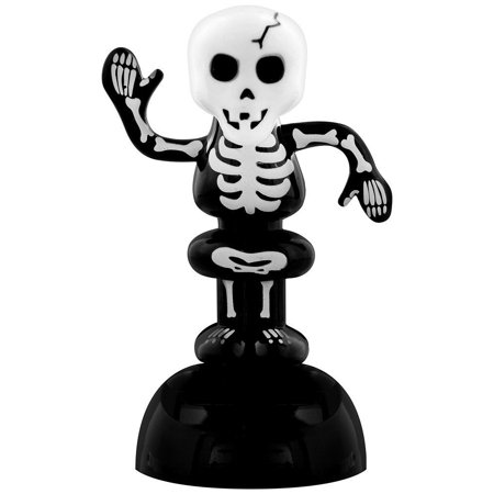 Gruesome Skeleton Halloween Novelty Solar Pal Sun Powered Toy By Pukator