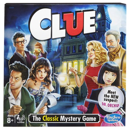 Clue Game  The Classic Mystery Game  Usa  Brand Hasbro