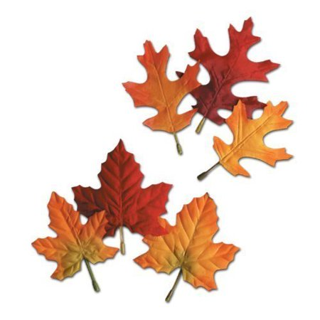 Fall Party Decorations (Autumn Leaves 4.5