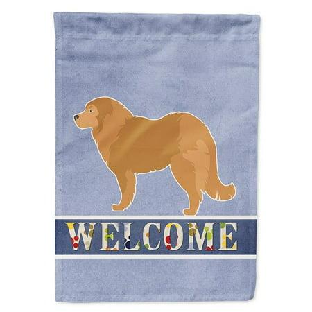 Carolines Treasures BB5529CHF Caucasian Shepherd Dog Welcome Flag Canvas House Size - image 1 de 1