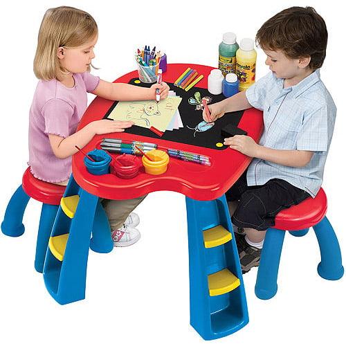 Crayola Creativity Play Station Desk & Chair Set by