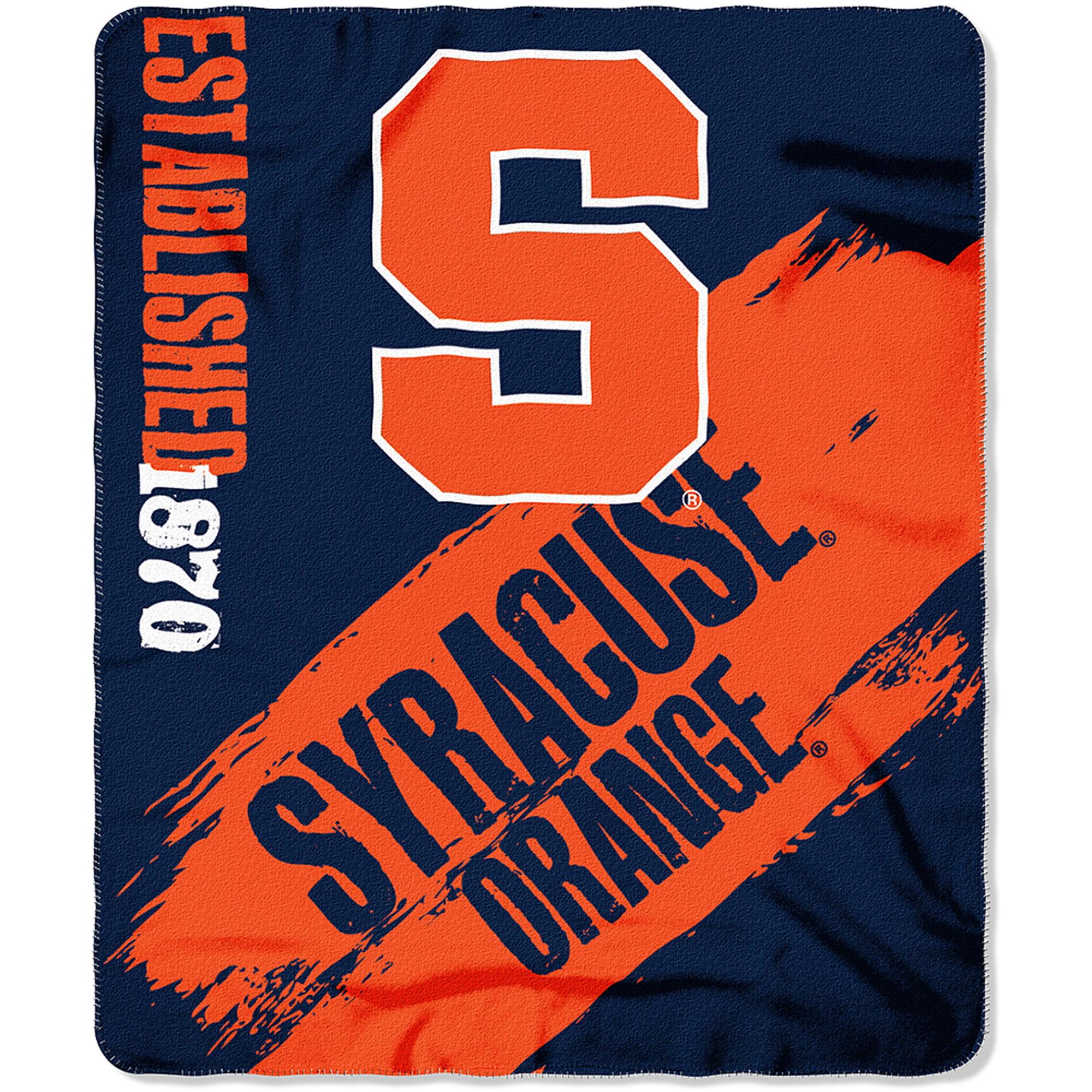 """NCAA Syracuse Orange 50"""" x 60"""" Fleece Throw"""