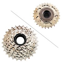 GZYF DNP 7-Speed Screw-on MTB Bike Freewheel Nickel Plate 11-28T Bicycle SRAM