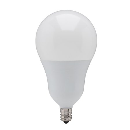 02 Candelabra (Satco S21802 6w A19 LED Candelabra 4000K Cool White Dimmable Replacement Bulb)