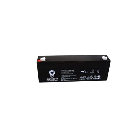 SPS Brand 12V 2.3 Ah Replacement Battery  for B Braun 620-100 (1