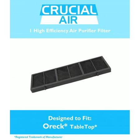 Oreck Air Purifier Filter Fits Tabletop Professional Pro Air Purifier, Part #