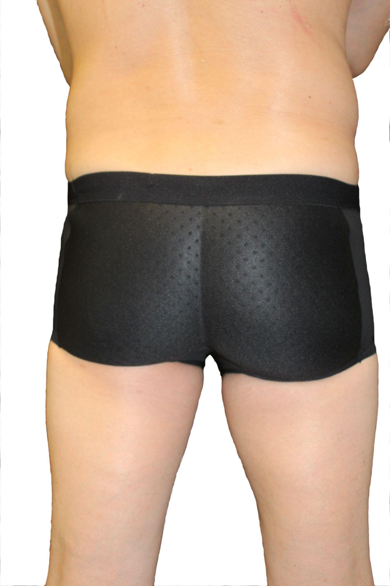 30c0a55448b4 Fullness - Fullness His Butt Booster Men's Underwear Padded Booty Backside  Buttocks Enhancer Molded Pad Boyshort Brief with Air Flow Butt Pads -  Walmart.com