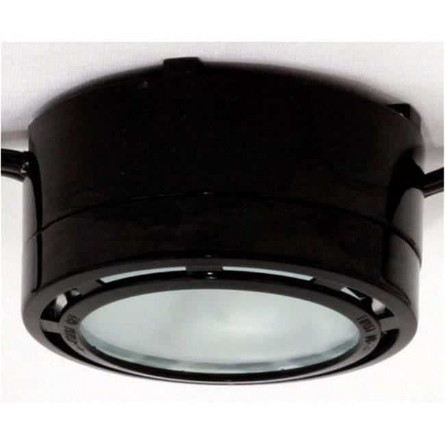 American Lighting ALLVP20BK 120V Halogen Under Cabinet Puck Light   Black