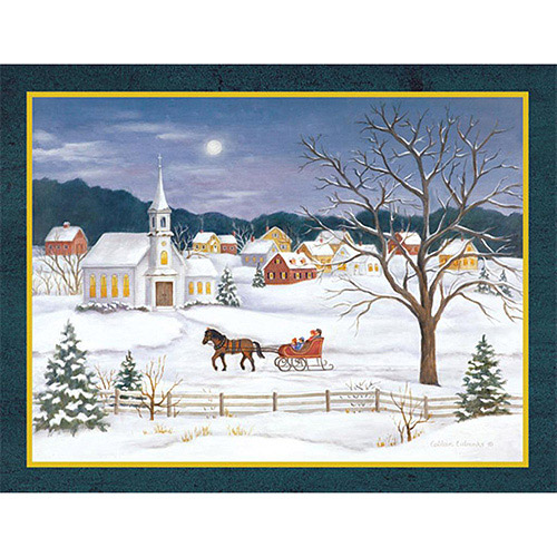 """Lang """"Christmas Morn In The Country"""" Boxed Christmas Cards"""