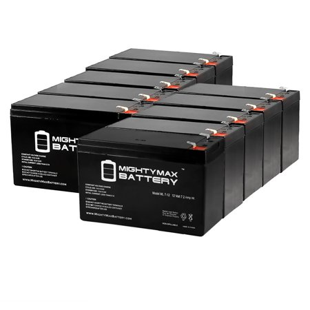 12V 7.2AH SLA Battery for Marcum VX-1Pro - 10 Pack