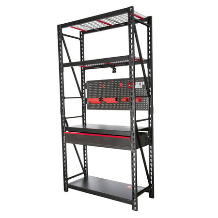 PORTER CABLE PCSRW4800 4-Foot Shop Workbench Garage Storage Combo (Porter Cable Pc136ms Universal Mobile Miter Stand)