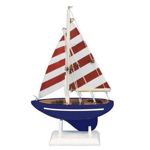Handcrafted Nautical Decor Nautical Delight Model Sailboat by Handcrafted Nautical Decor