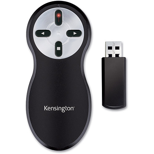 Wireless Presenter with Red Laser Pointer