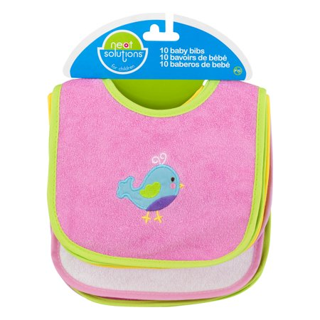 P For Baby Newborn Bib (Neat Solutions Baby Bibs - 10 CT10.0)