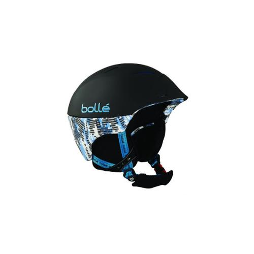 Bolle Helmet, Synergy Soft Black and Blue for 54-58cm Goggle