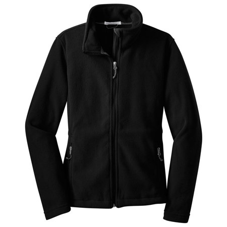 Port Authority Women's Adjustable Fleece Drawcord Jacket Cotton Blend Fleece Jacket